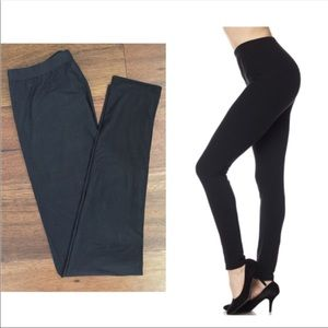 Pants - Black high waisted leggings